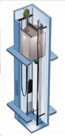 无机房电梯 载货电梯
